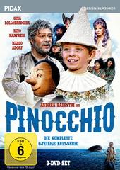Pinocchio - Die komplette Serie (3 Discs) Filmplakat