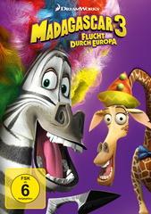 Madagascar 3: Flucht durch Europa Filmplakat