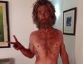 Mager-Selfie von Chris Hemsworth