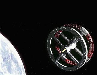 Kubrick startet 'Odyssee im Weltraum'